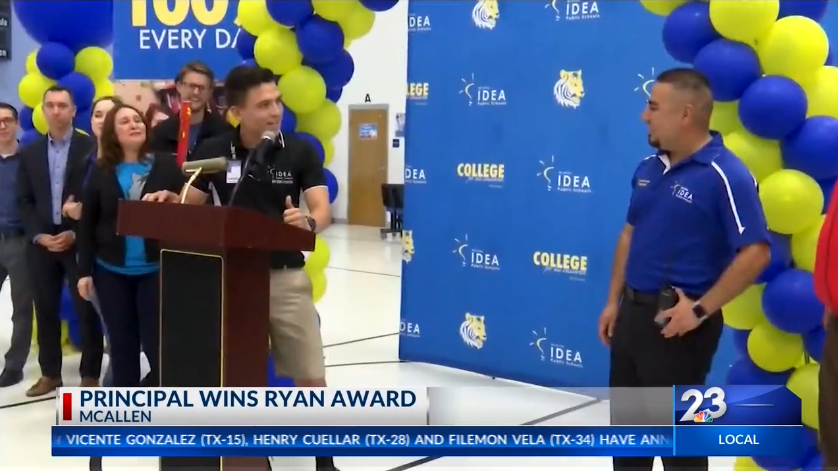 2019 Ryan Award Winner Joán Alvarez (KVEO-TV Brownsville)