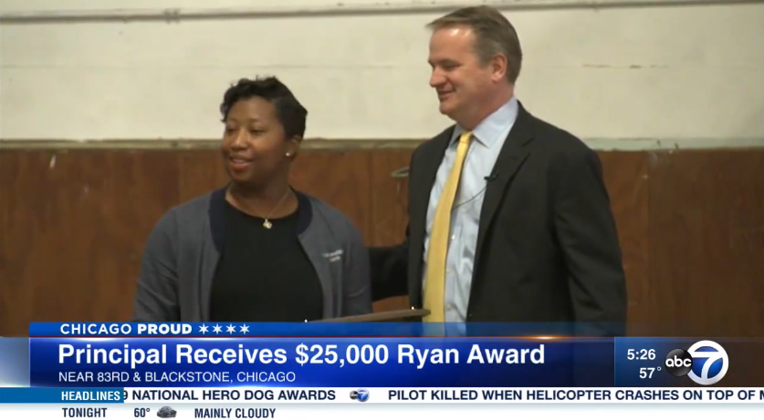 2019 Ryan Award Winner Lindsey Robinson (ABC7 Chicago)