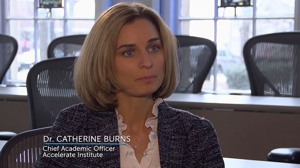 Catherine Burns, Chief Academic Officer